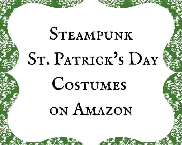 Steampunk Saint Patrick's Day Costumes sur Amazon
